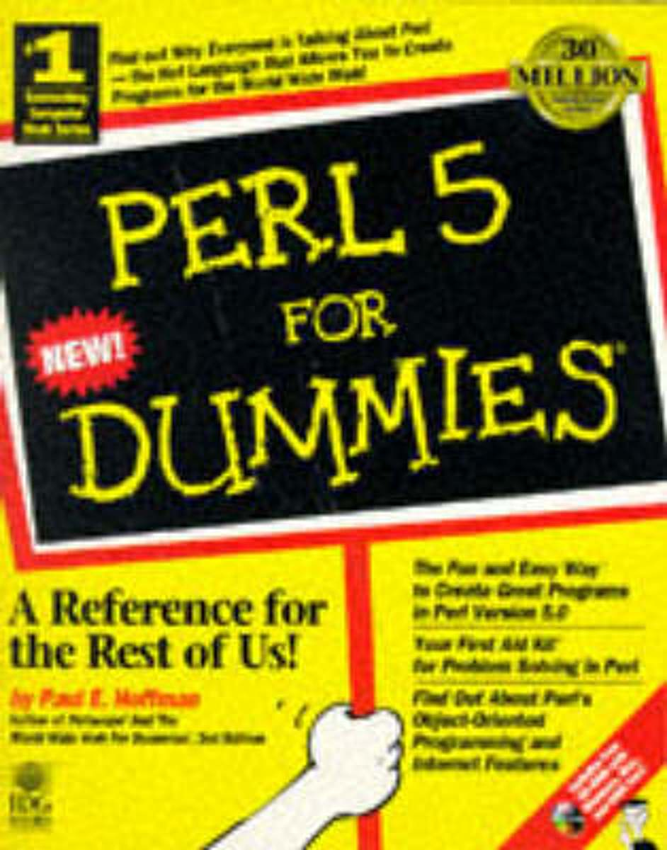 Perl 5 For Dummies