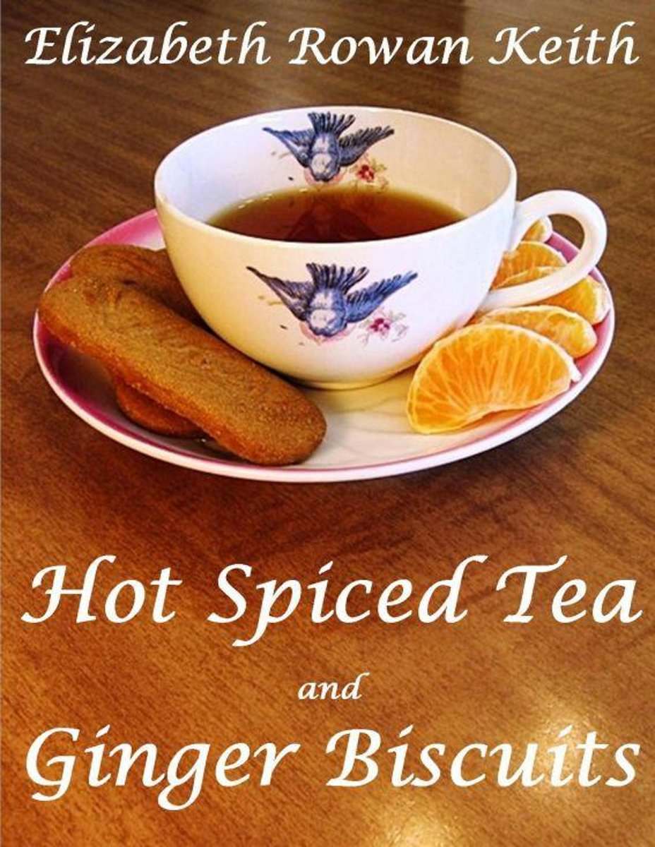 Hot Spiced Tea and Ginger Biscuits