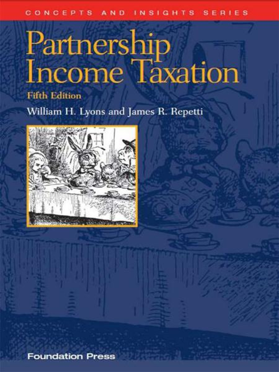 Partnership Income Taxation, 5th (Concepts and Insights Series)