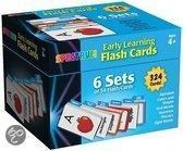 Early Learning Flash Cards Flash Cards: 6 Sets of 54 Flash Card