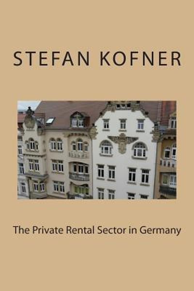 The Private Rental Sector in Germany