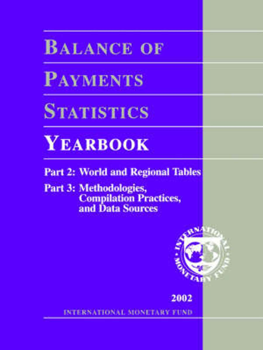 Balance of Payments Statistics Yearbook 2002