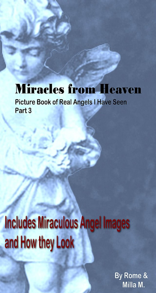 Miracles from Heaven: Picture Book of Real Angels I Have Seen Part 3