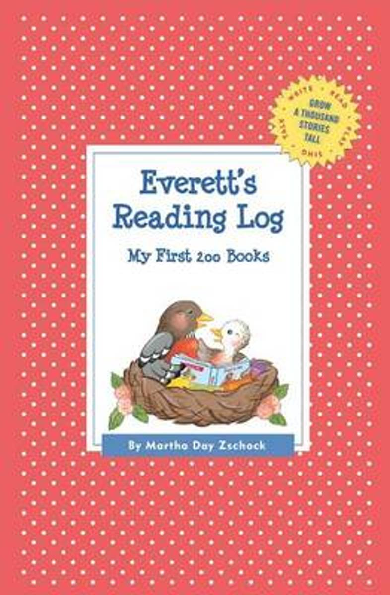 Everett's Reading Log