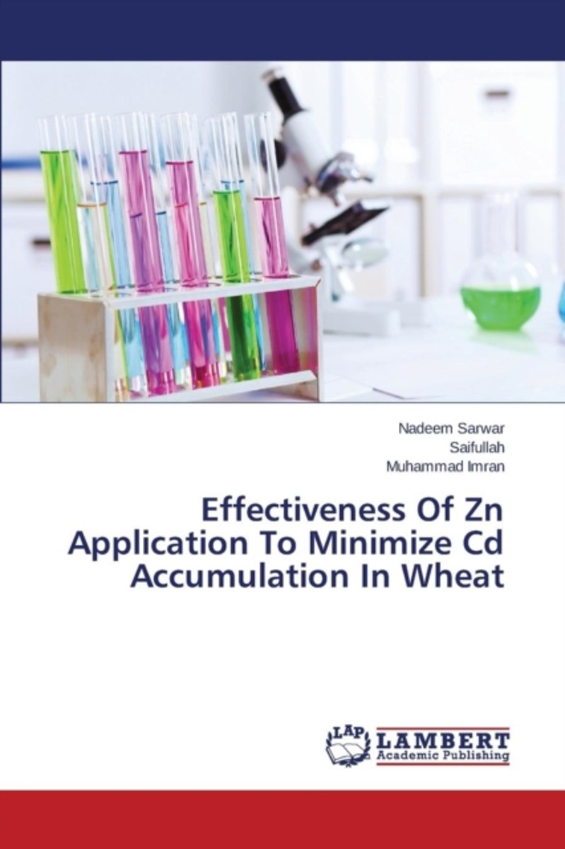 Effectiveness of Zn Application to Minimize CD Accumulation in Wheat