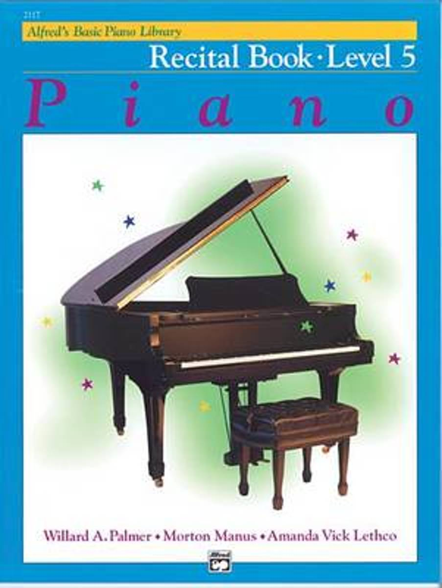 Alfred's Basic Piano Library Recital Book, Bk 5