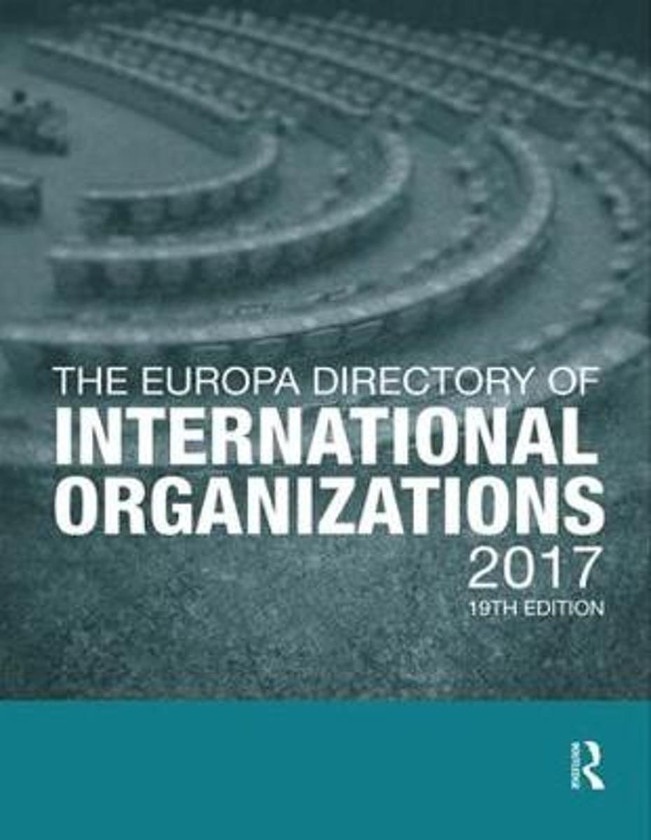 The Europa Directory of International Organizations 2017