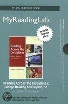 NEW MyReadingLab with Pearson Etext - Standalone Access Card - for Reading Across the Disciplines