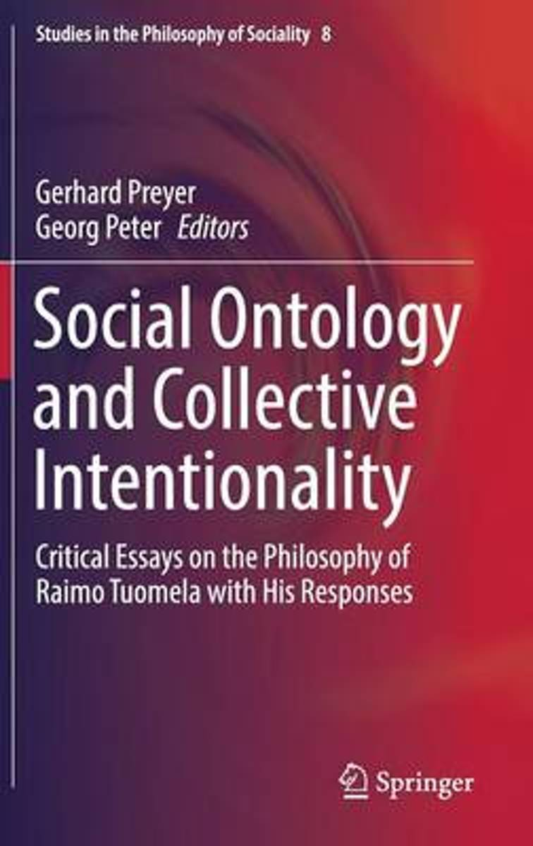 Social Ontology and Collective Intentionality