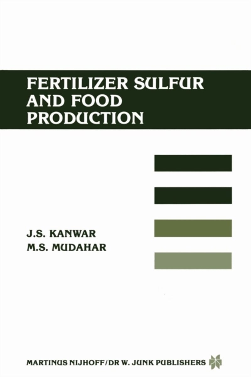 Fertilizer sulfur and food production