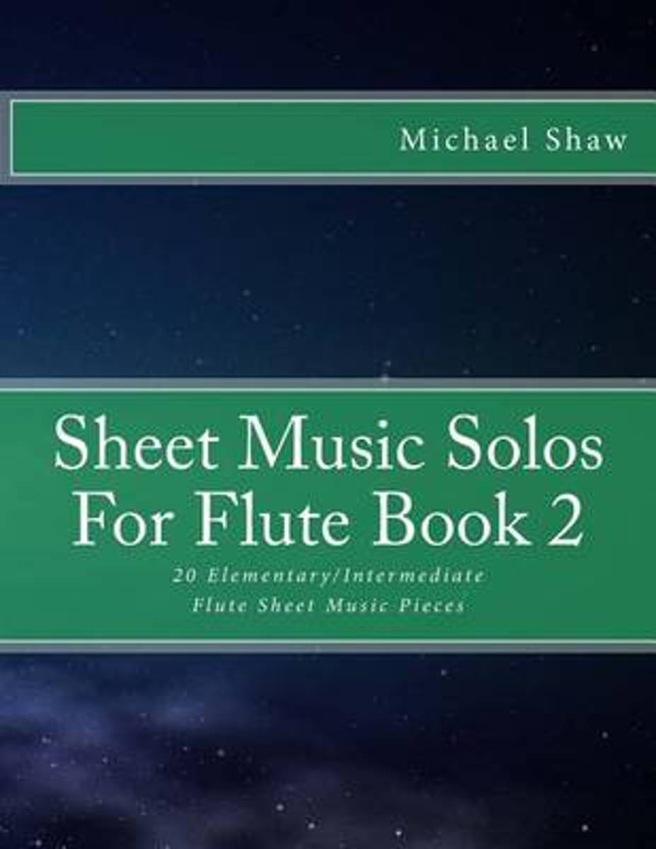 Sheet Music Solos for Flute Book 2