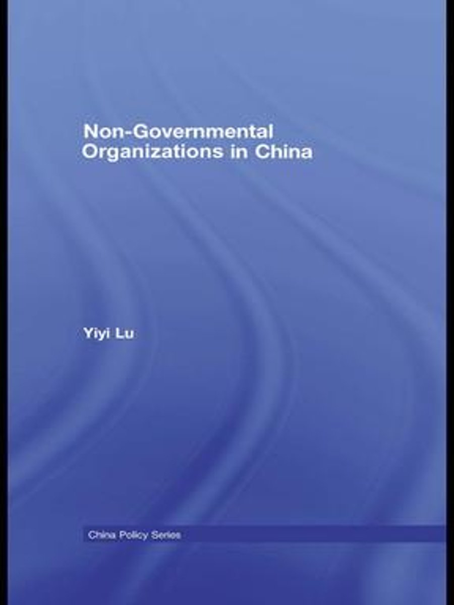 Non-Governmental Organisations in China