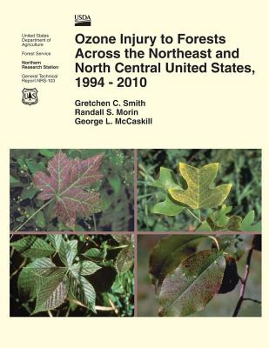 Ozone Injury to Forests Across the Northeast and North Central United States, 1994-2010