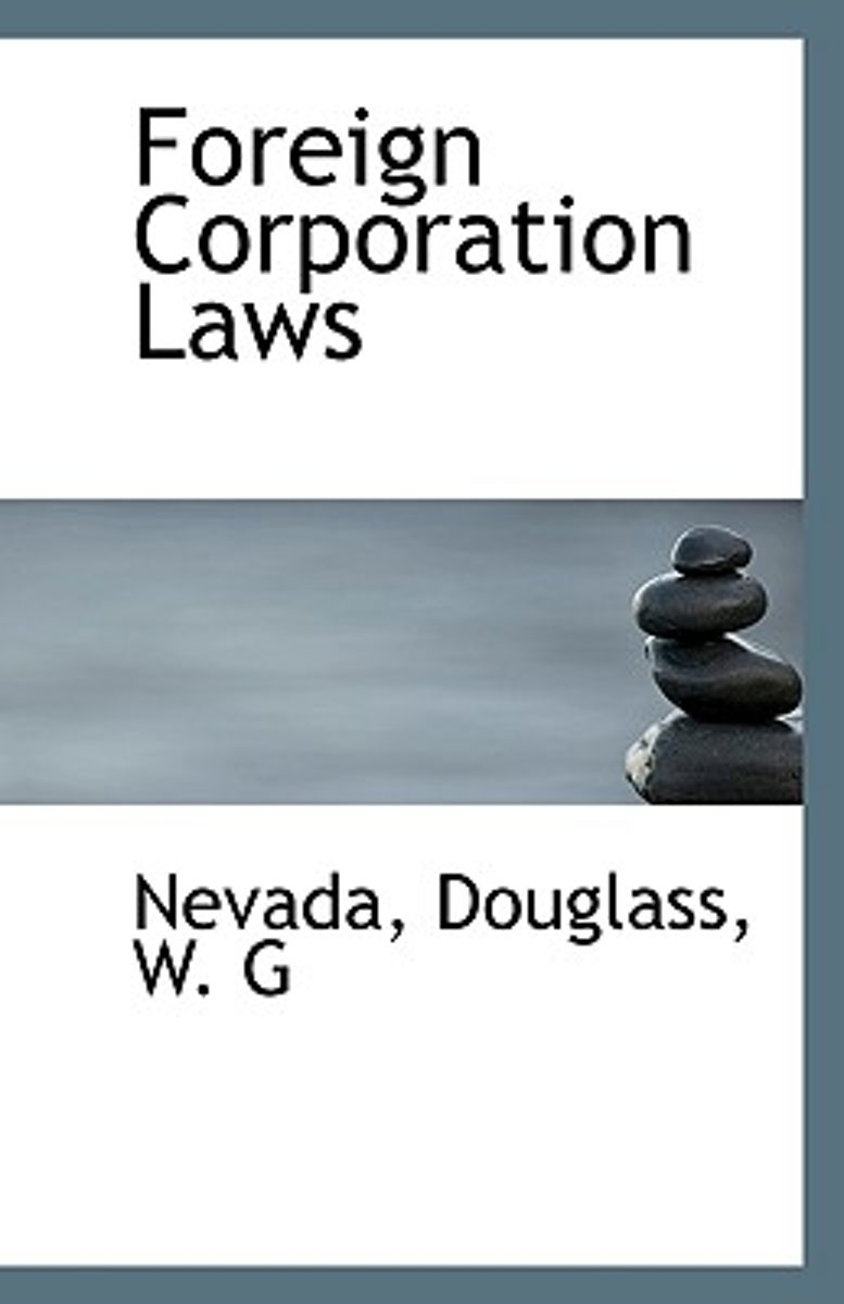 Foreign Corporation Laws