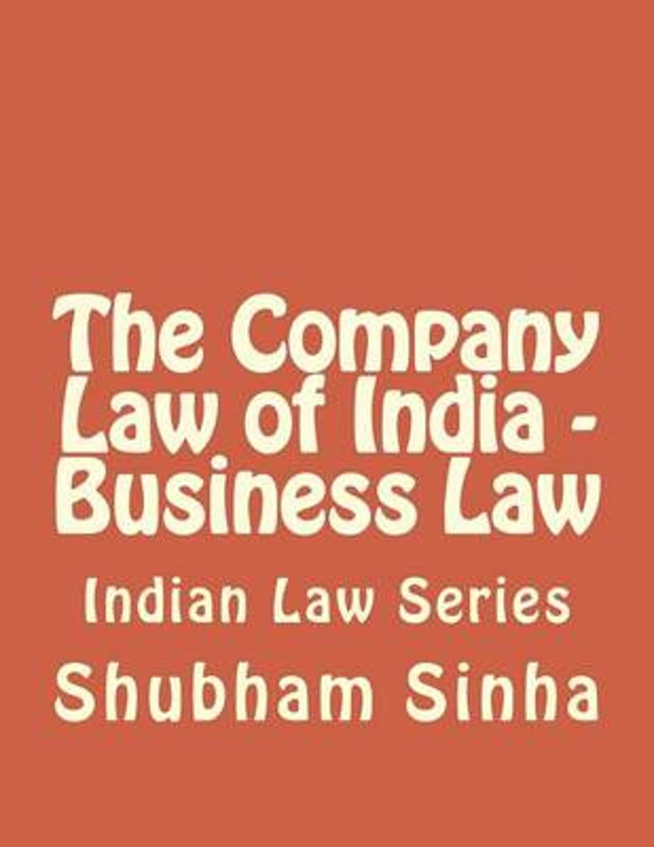 The Company Law of India - Business Law