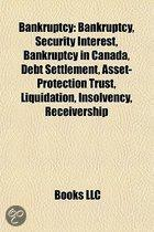 Bankruptcy: Security Interest, Bankruptcy in Canada, Debt Settlement, Asset-Protection Trust, Receivership, Insolvency, Liquidatio