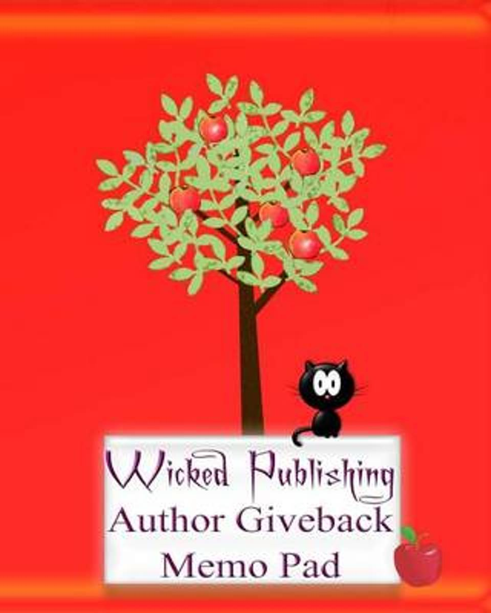 Wicked Publishing Author Giveback Memo Pad