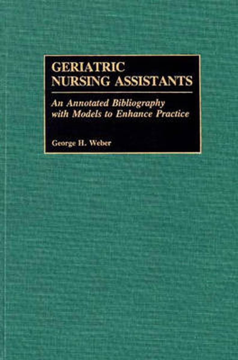 Geriatric Nursing Assistants