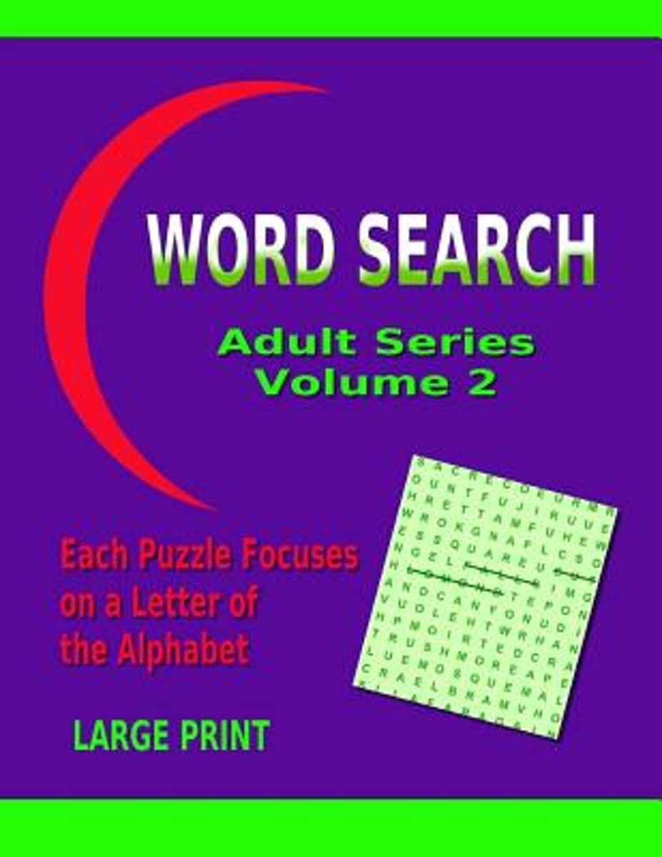 Word Search Adult Series Volume 2