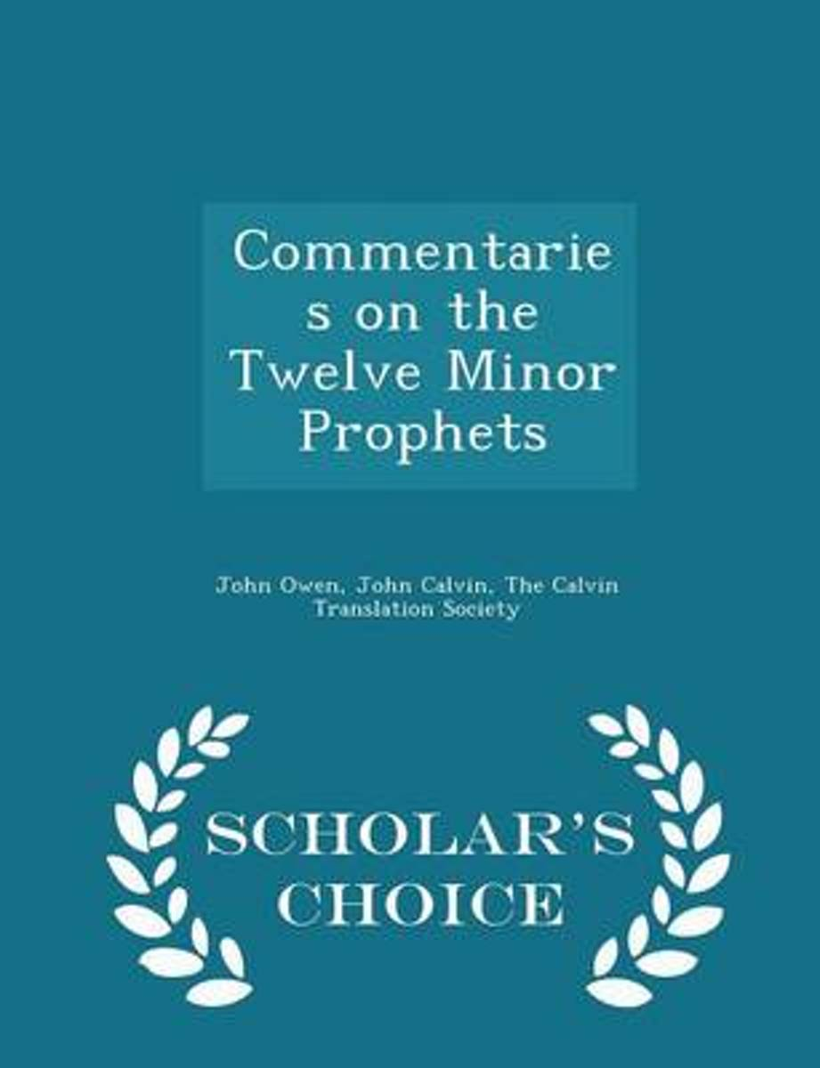 Commentaries on the Twelve Minor Prophets - Scholar's Choice Edition