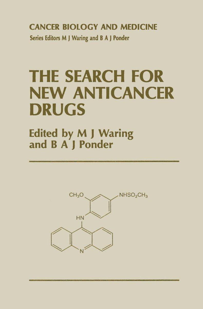 The Search for New Anticancer Drugs image