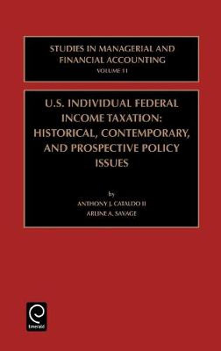 US Individual Federal Income Taxation