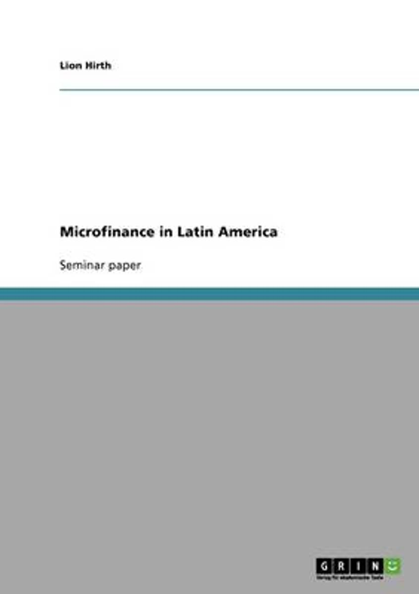 Microfinance in Latin America