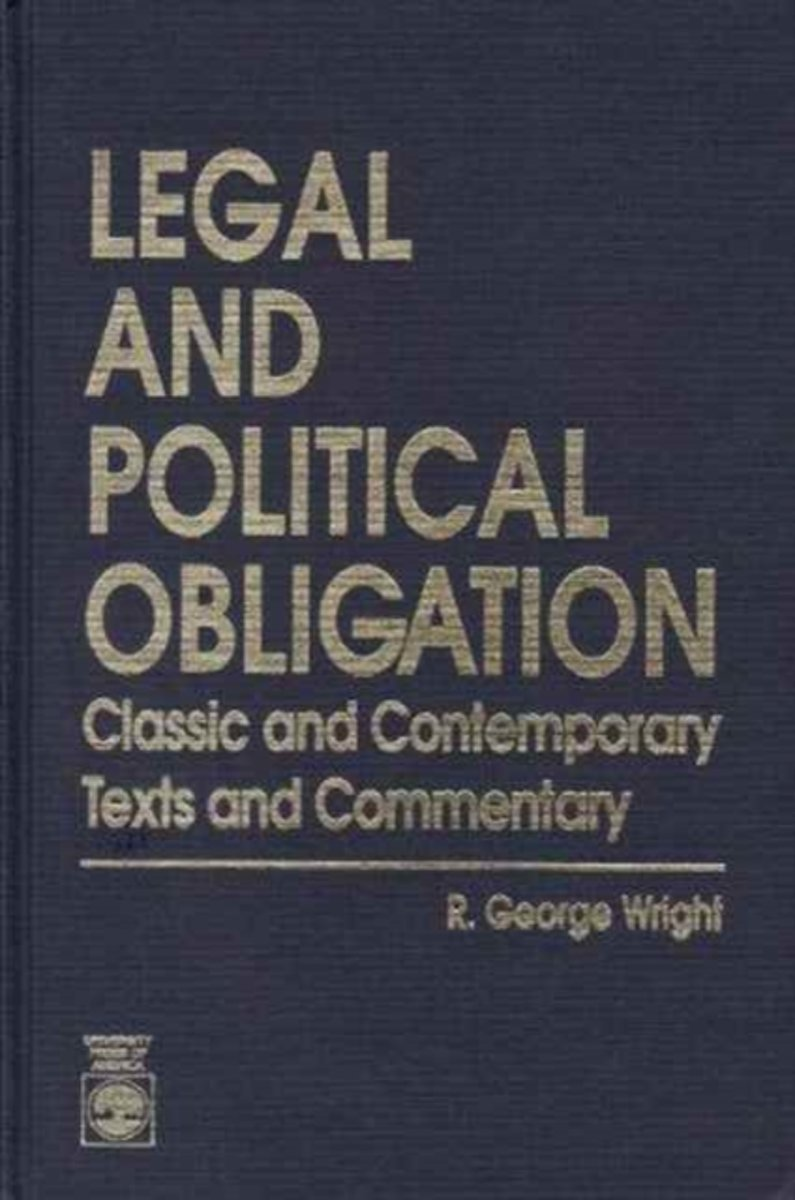 Legal and Political Obligation