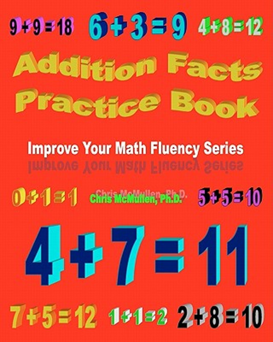 Addition Facts Practice Book