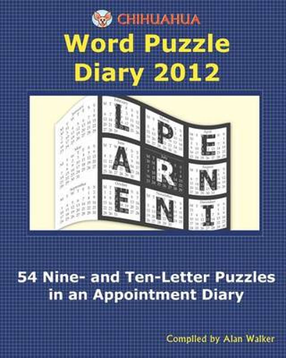 Chihuahua Word Puzzle Diary 2012