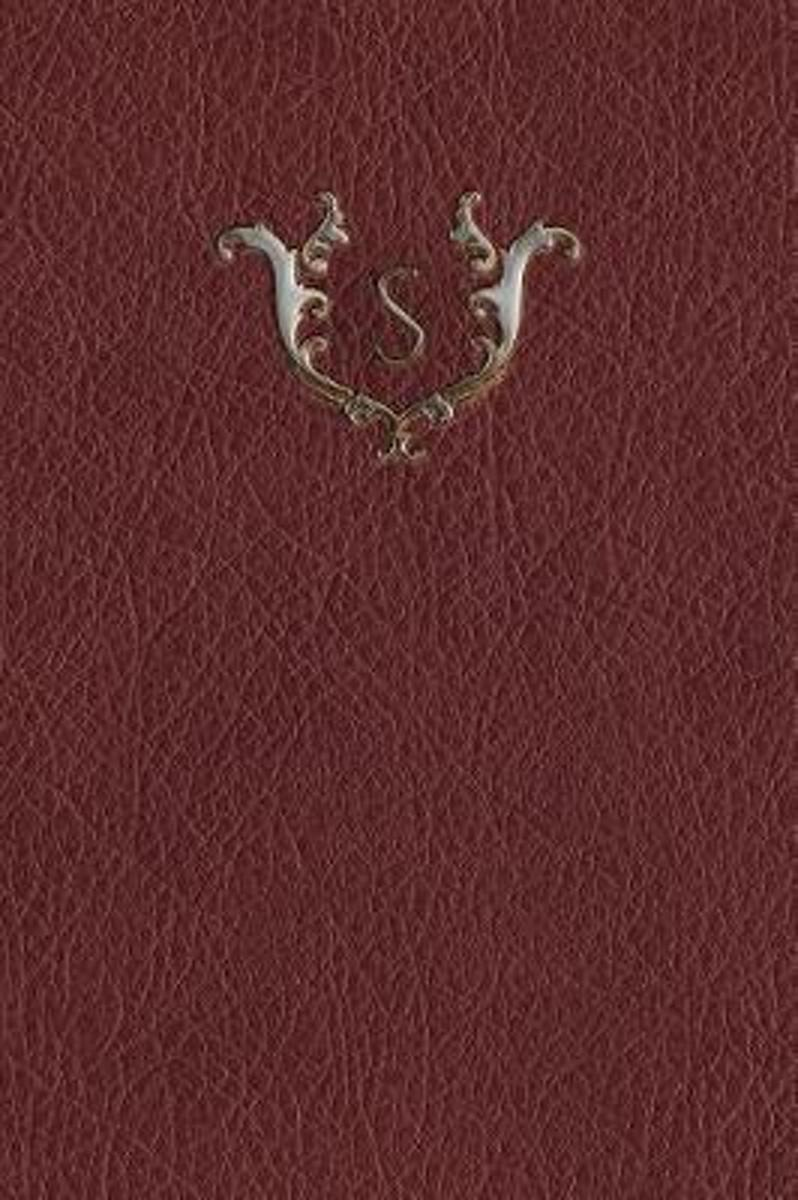 Monogram S Meeting Notebook