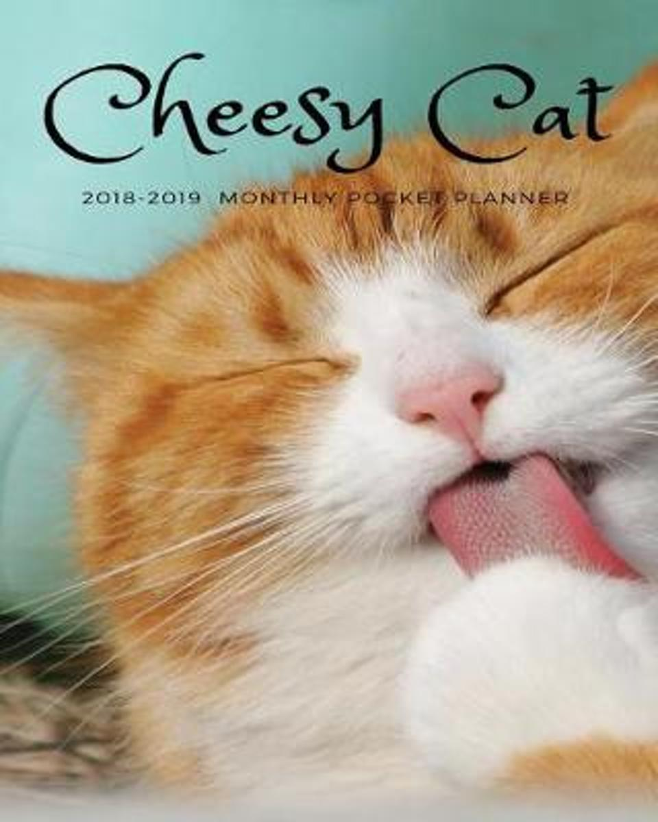 Cheesy Cat 2018-2019 Monthly Pocket Planner