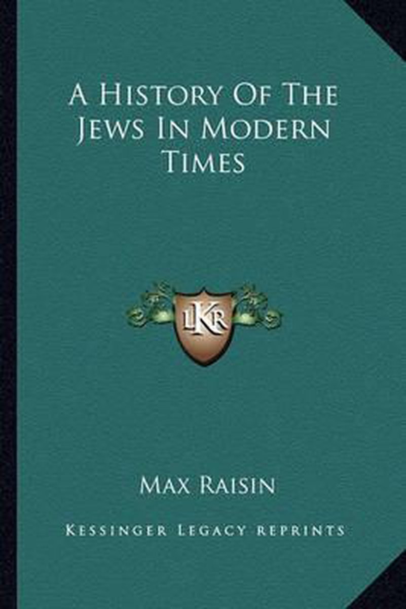 A History of the Jews in Modern Times