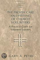 Proper Care and Feeding of Church Volunteers