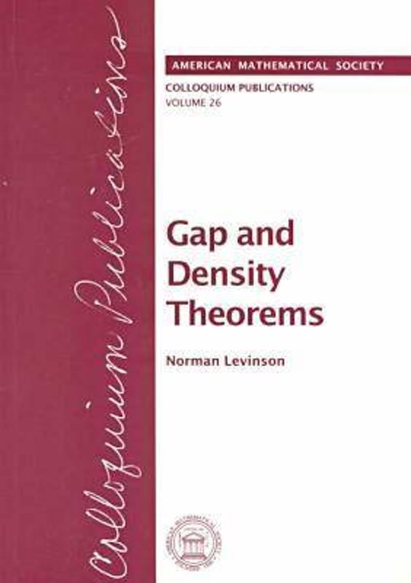 Gap and Denisty Theorems