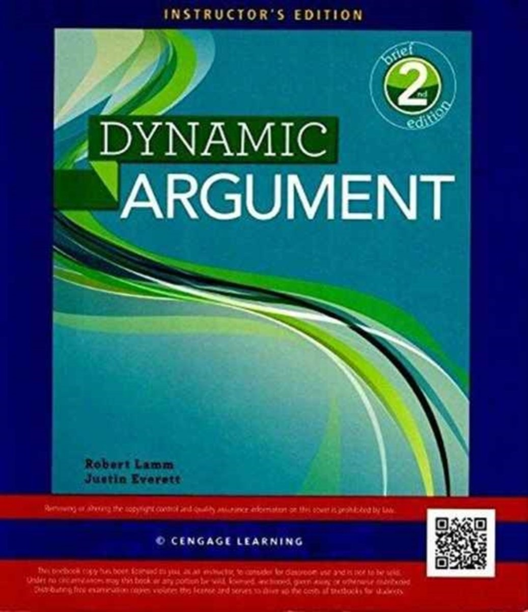Instructor's Edition for Lamm/Everett's Dynamic Argument, Brief, 2nd
