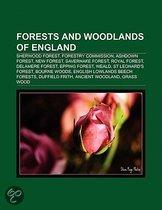 Forests And Woodlands Of England: Sherwood Forest, Forestry Commission, Ashdown Forest, New Forest, Savernake Forest, Royal Forest