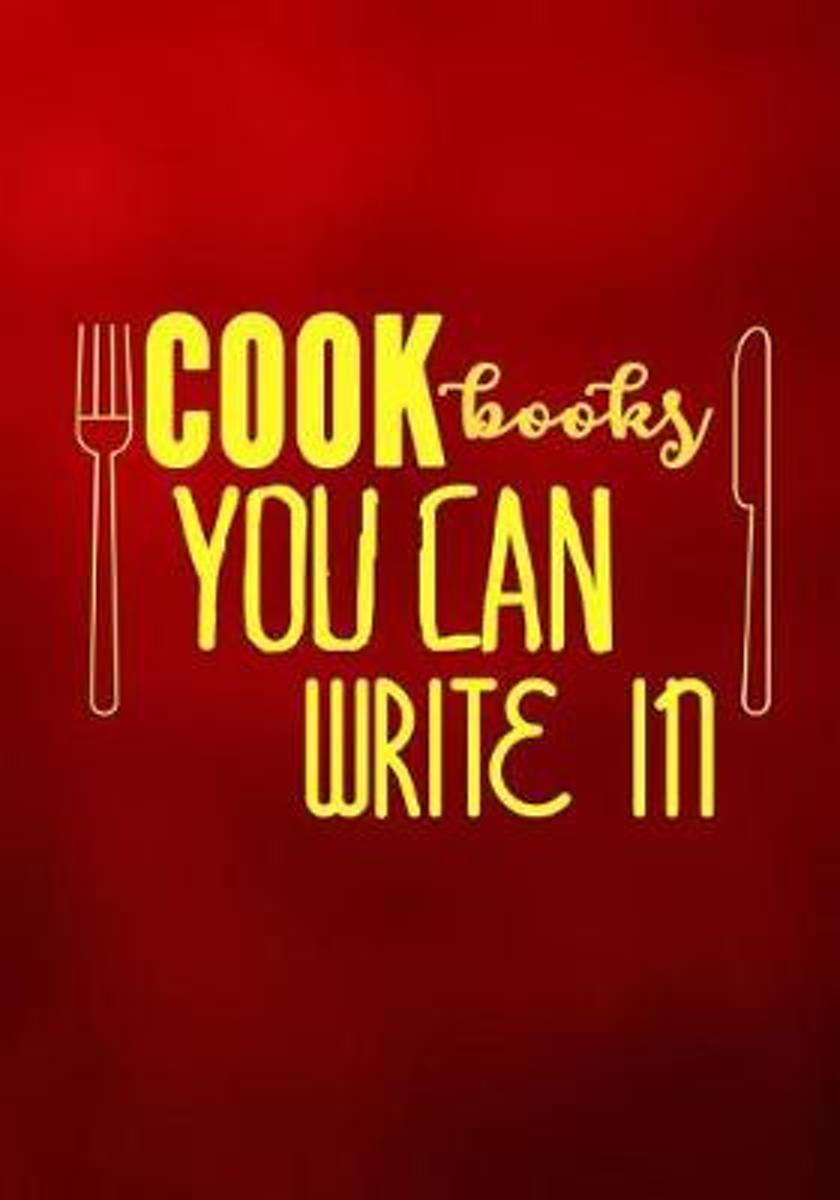 Cookbooks You Can Write in