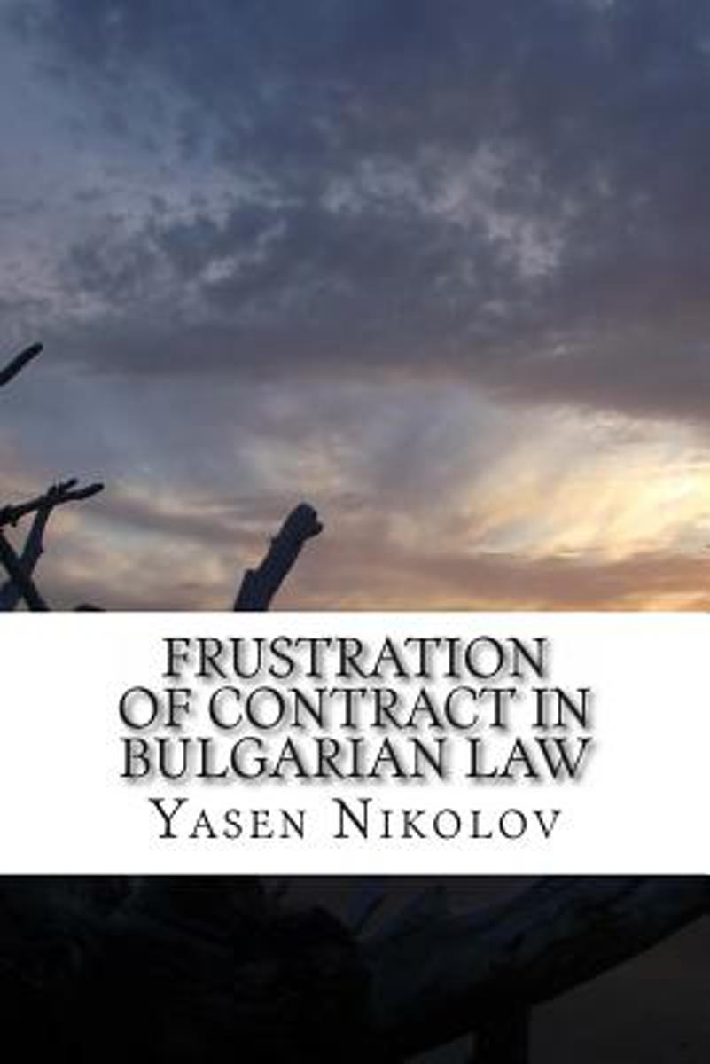 Frustration of Contract in Bulgarian Law