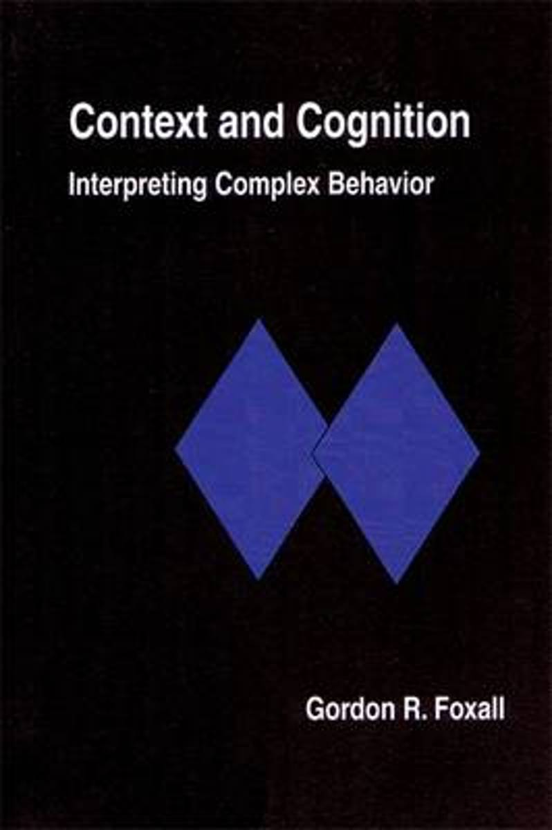 Context and Cognition