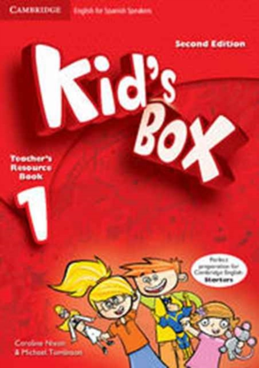 Kid's Box for Spanish Speakers Level 1 Teacher's Resource Book with Audio CDs (2)