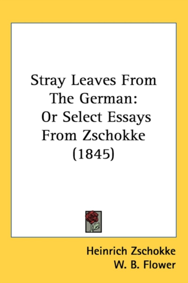 Stray Leaves From The German