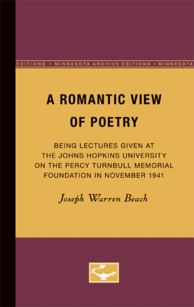 A Romantic View of Poetry