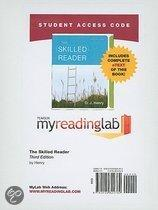 MyReadingLab with Pearson EText - Standalone Access Card - for the Skilled Reader