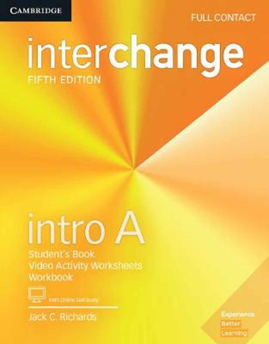 Interchange Intro A Full Contact with Online Self-Study