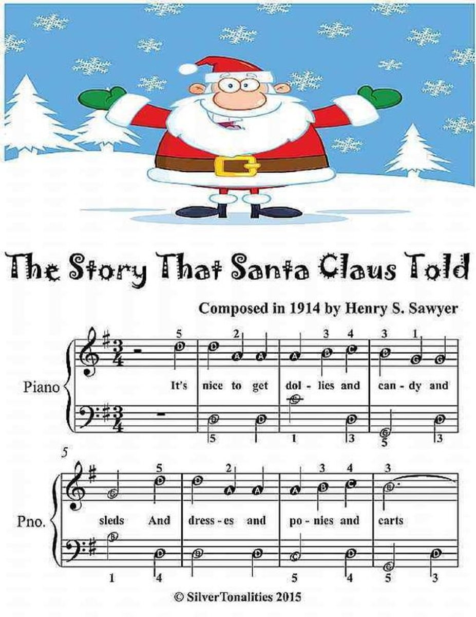The Story That Santa Claus Told - Easiest Piano Sheet Music Junior Edition