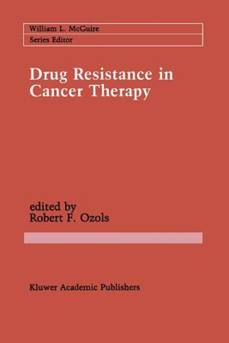 Drug Resistance in Cancer Therapy