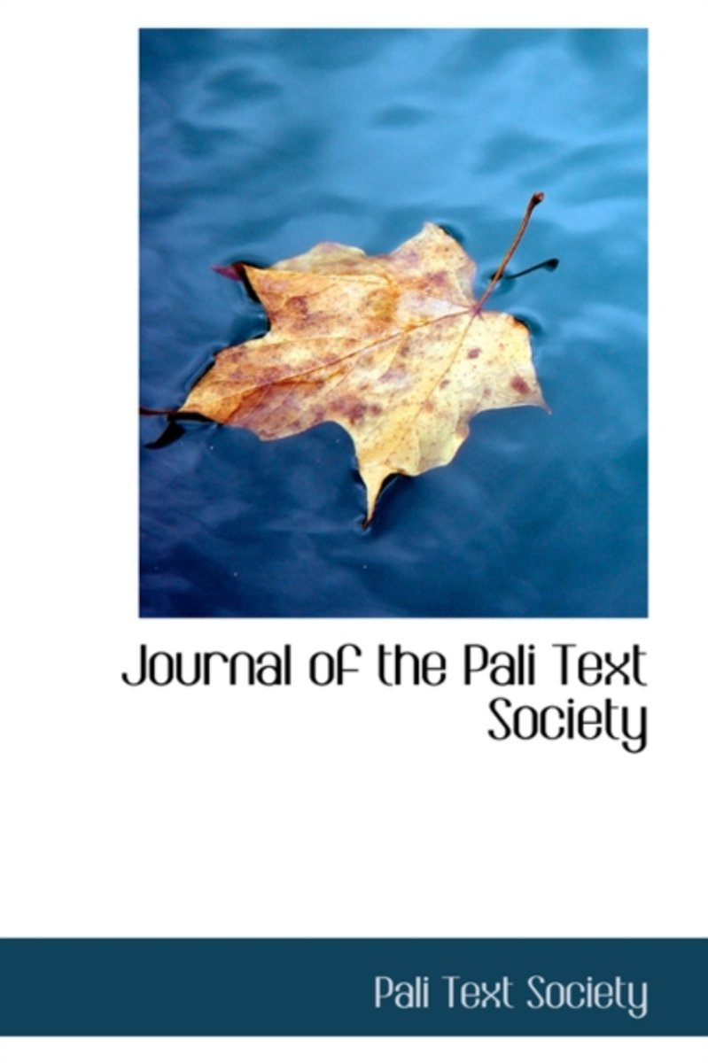 Journal of the Pali Text Society