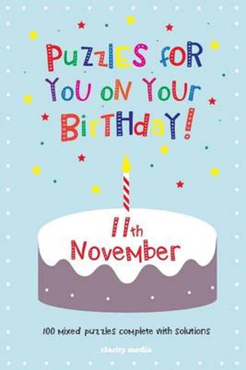 Puzzles for You on Your Birthday - 11th November
