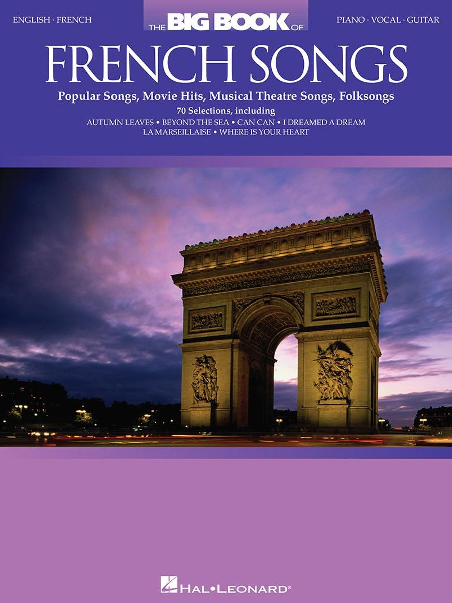 The Big Book of French Songs (Songbook)